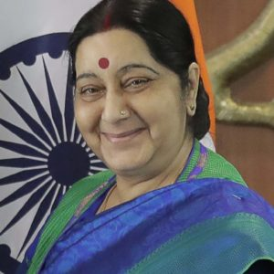 Photo of Sushma Swaraj